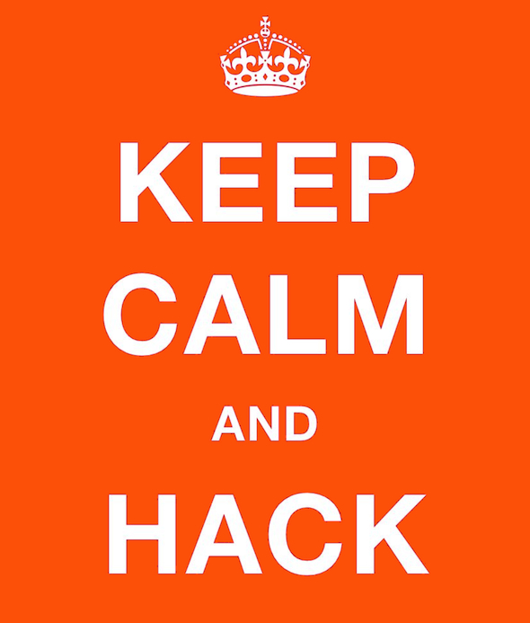 keep calm and hack