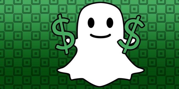 snapchat money