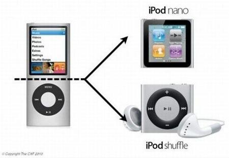 nano shuffle