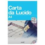 Album 10 fogli LUCIDI gr.80 - a4-21x297-cm