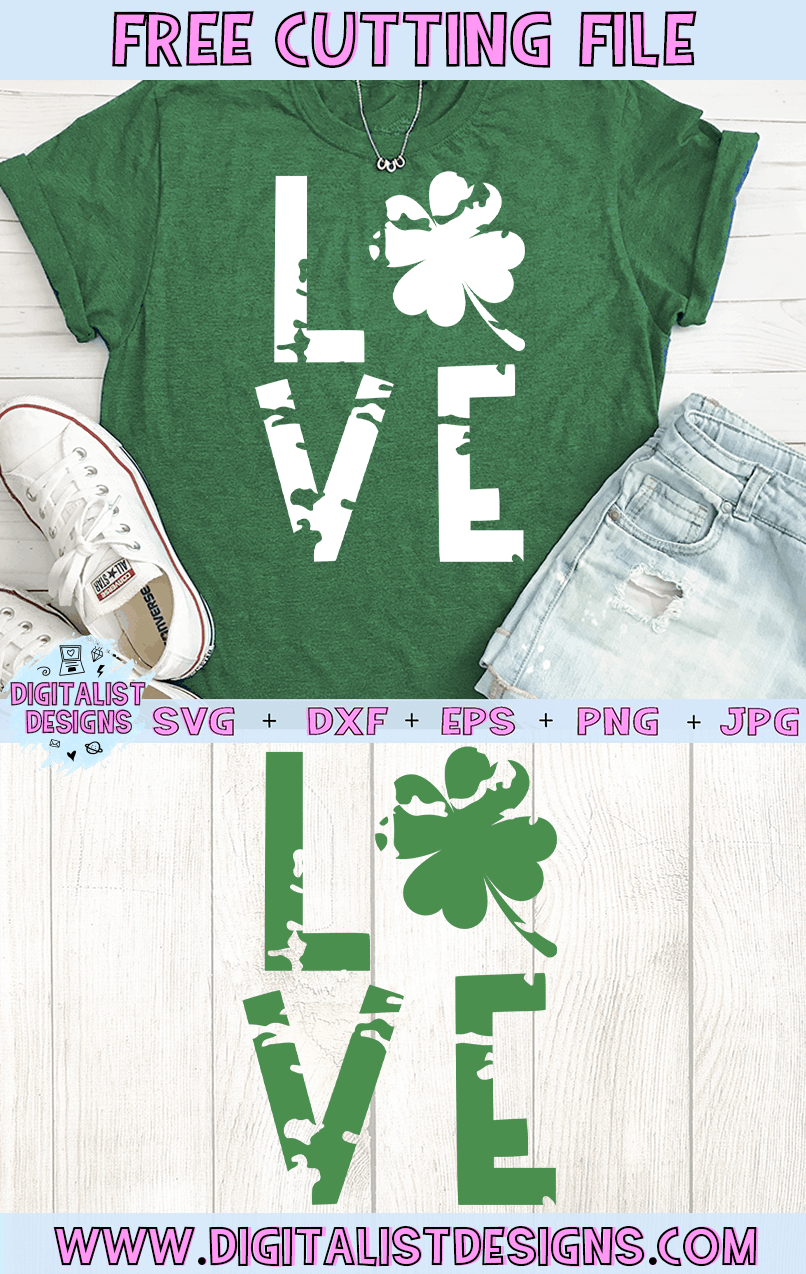 Download Free Love St. Patrick's Day SVG | DigitalistDesigns