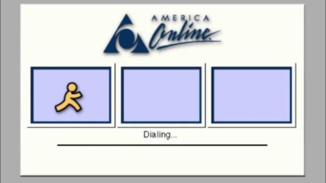 aol-dialing
