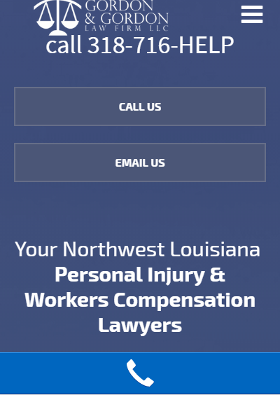 mobile websites for law firms