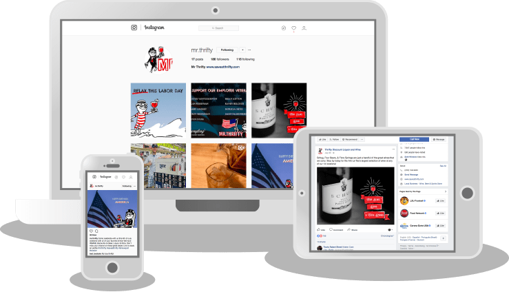 Social Media Advertising Services in Shreveport Louisiana Example