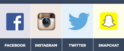 instagram facebook snapchat and twitter for law firms