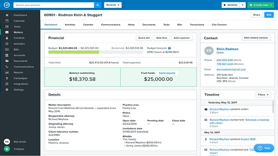 13 Clio legal and law firm practice managment software review