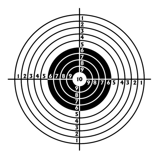 free printable shooting target # 40