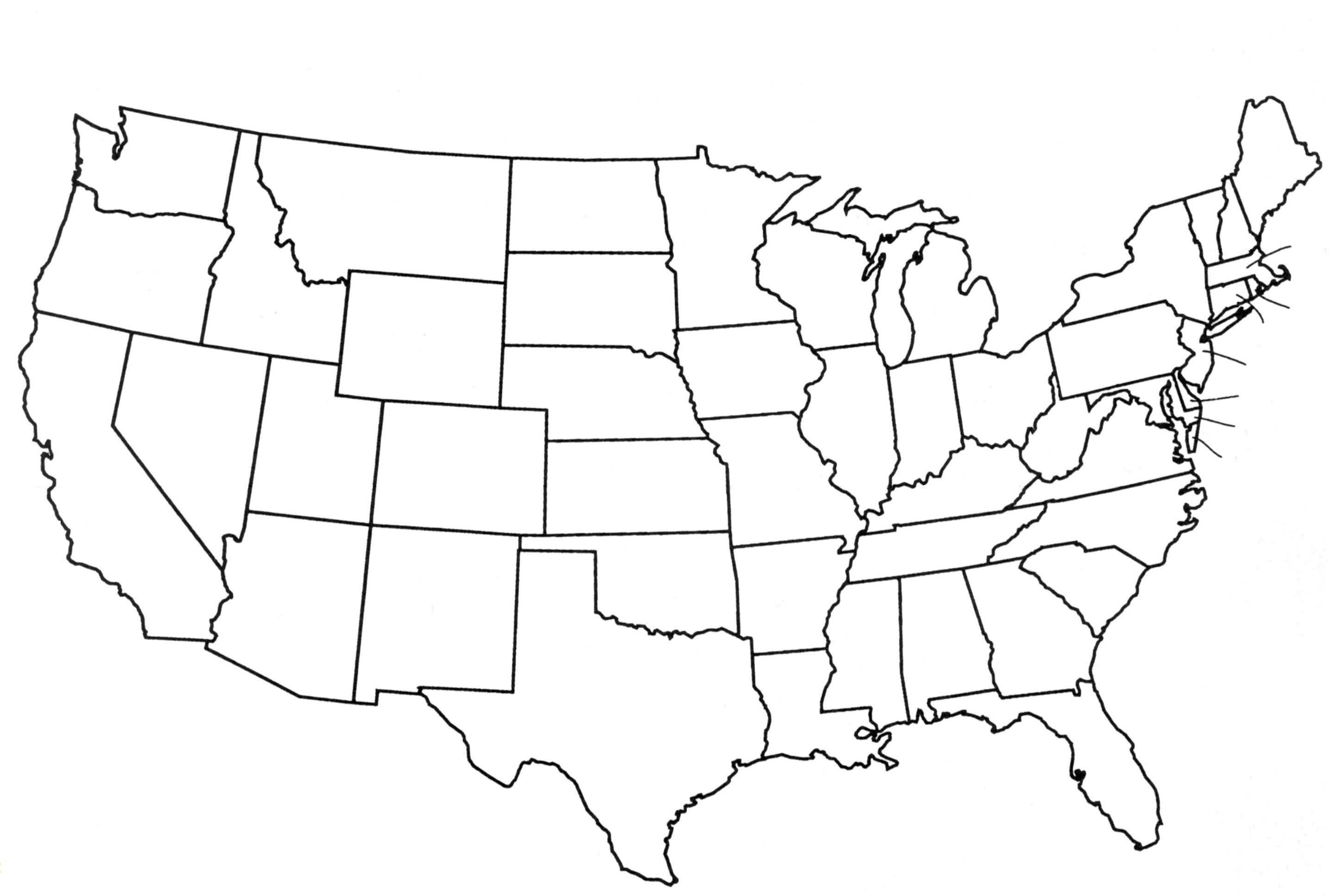 Us Map Worksheet