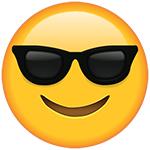 cool sunglasses emoji