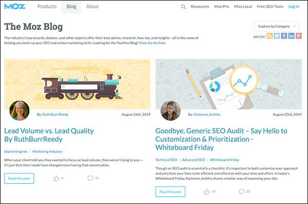 Moz Marketing Blog