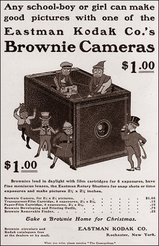 Old Kodak Brownie ad