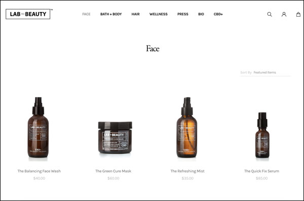 this beauty brand used the ecommerce strategy of a pop-up shop