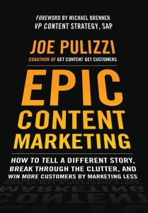 Cover of the book Epic Content Marketing