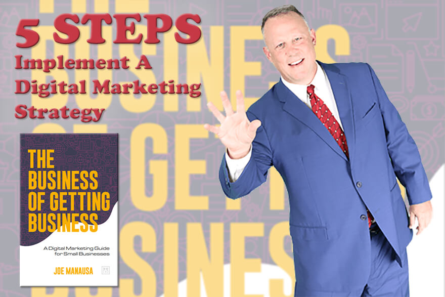 Digital Marketing Strategy - 5 Initial Steps Of Implementation