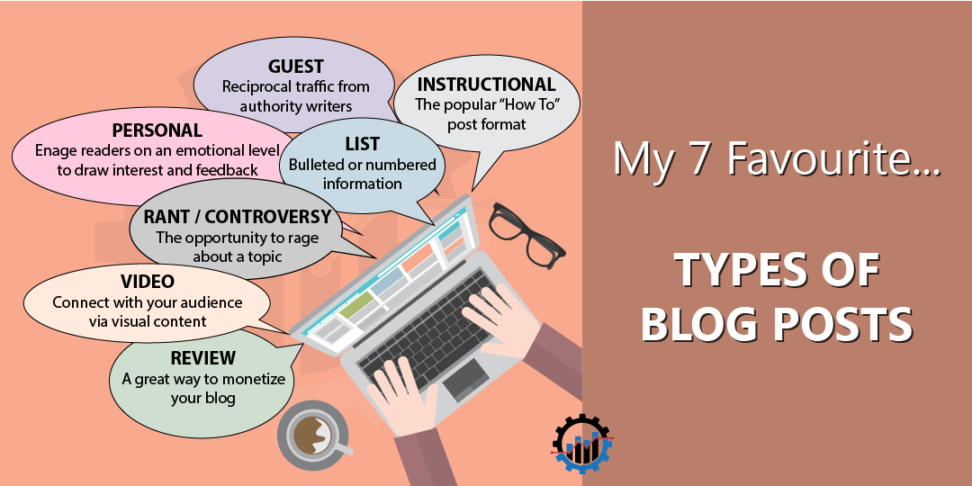 My 7 Favourite Types Of Blog Posts