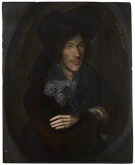 painting of John Donne now in the National Portrait gallery