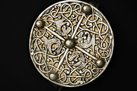 Disc brooch from the Galloway hoard