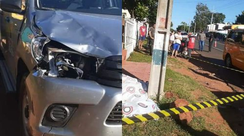 <span>Peatón fallece en accidente de tránsito en San Patricio Misiones</span>