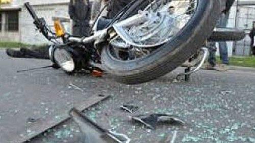 <span>Villa Florida: chofer se dio a la fuga luego de rosar por una moto donde mató a un niño de 5 años</span>