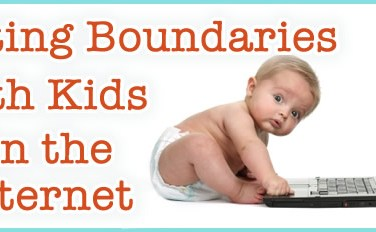 Setting boundaries on the internet with your kids