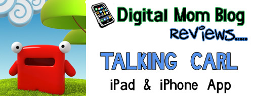 Talking Carl iPhone iPad App Review