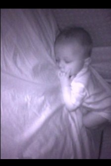 Baby monitor viewable on the iphone