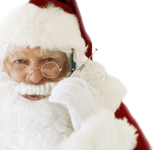 free phone call from santa