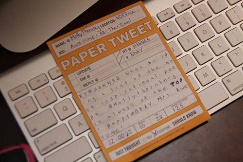 paper tweet