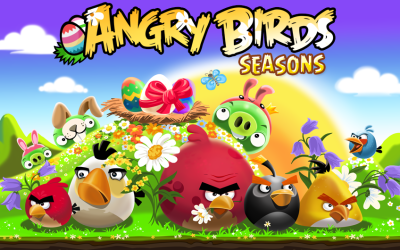 Angry Birds Seasons – Easter Edition