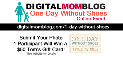 One Day Without Shoes – Online Event