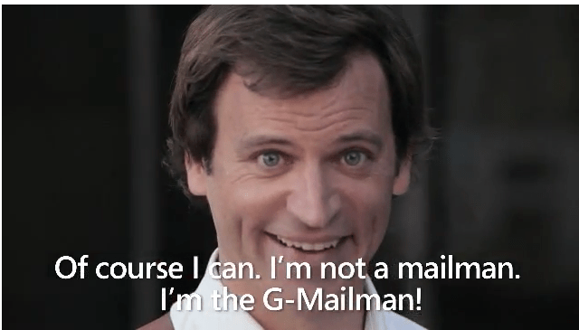 Gmail Man – He Scrapes Your Emails – 1 Point for Microsoft