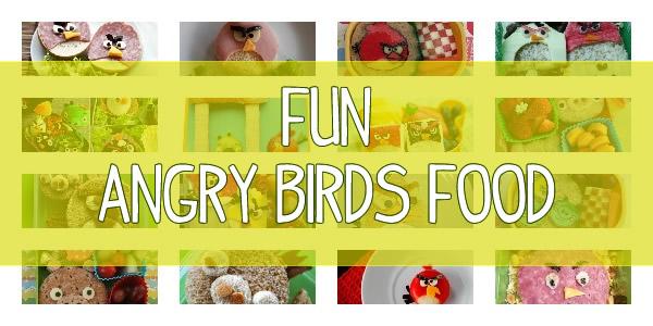 angry birds food