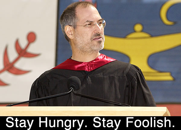 Steve Jobs Talks Not Graduating College During Stanford Commencement Speech