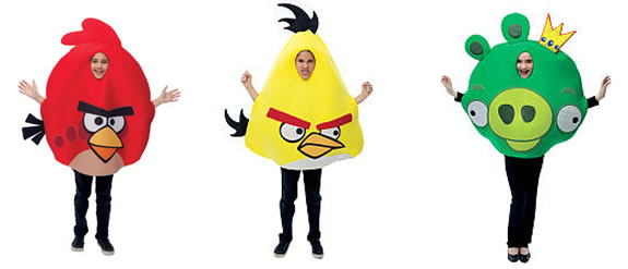 angry birds kids costumes