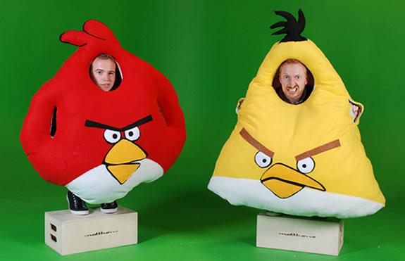 diy angry birds homemade costume