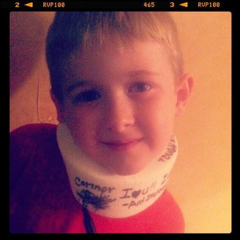 the kid neckbrace