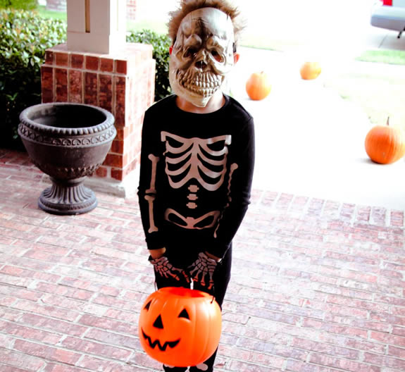 Halloween Skeleton Costume