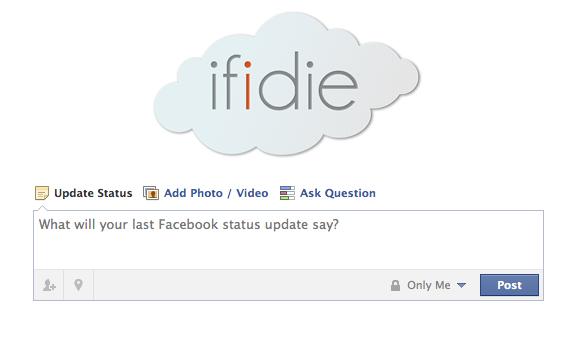 if i die facebook app