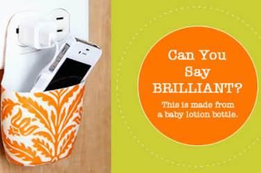 diy phone holder for charging