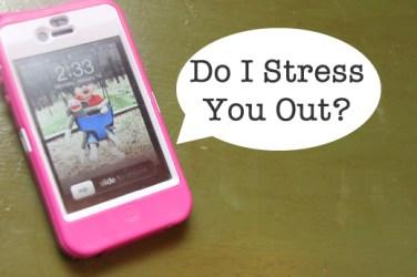 stress and smartphones