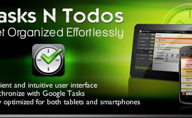 tasks n todos android app