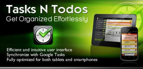 free android app tasks n todos