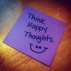 Daily Inspire – Think Happy Thoughts