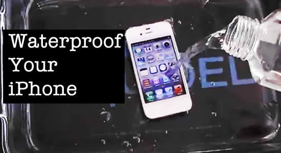 How to Waterproof Your iPhone or Mobile Device