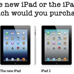 What Would You Purchase : the New iPad or iPad 2