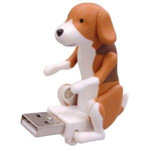 USB Humping Dog Flash Drive