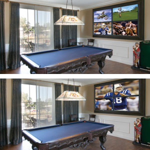 VideoWall in a house