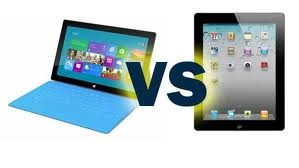 Microsoft Surface and the Apple iPad