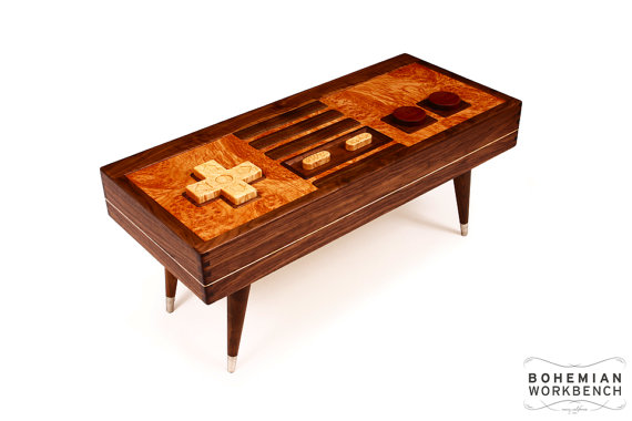 nintedo coffee table