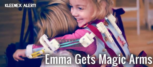 emma and her magic arms